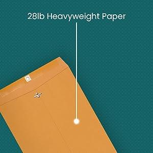 28lb heavyweight paper