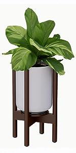 Mid Century Plant Stand Modern Adjustable Plant Stand Planter Stand Pot Stand Indoor Plant Stand Pot