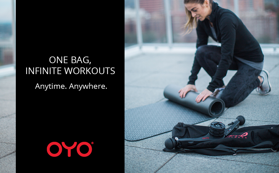 oyo fitness shoulder bag infinite workouts anytime anywhere
