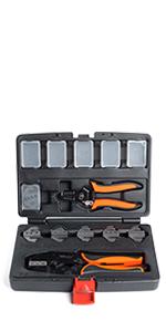 wirefy 8 pcs crimping tool set