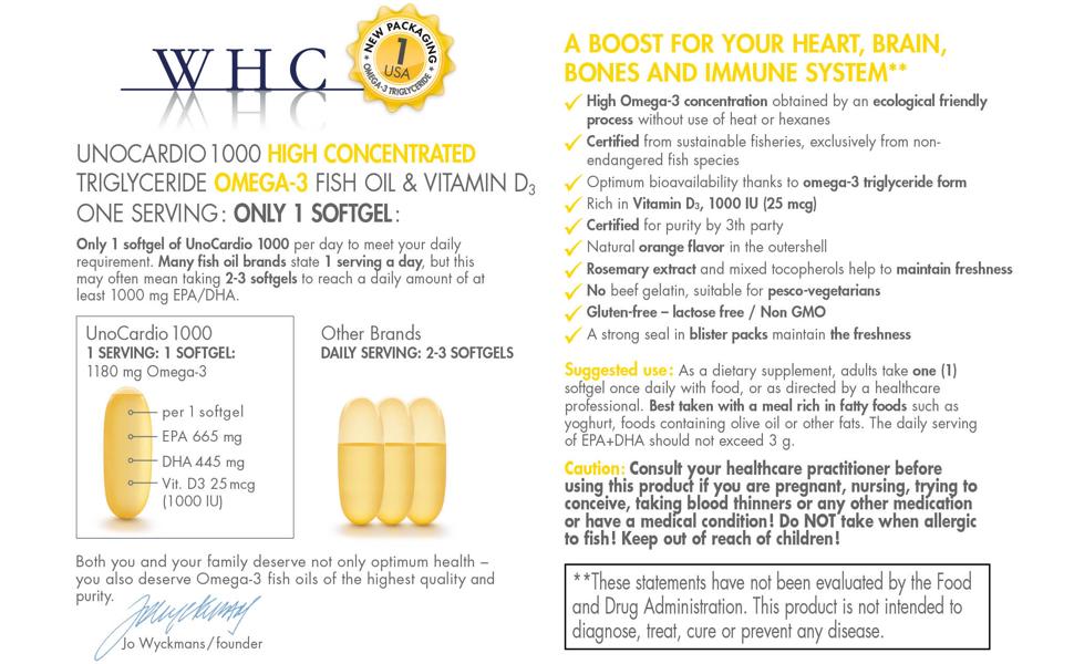 WHC UnoCardio 1000