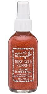 rose gold hair spray