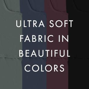 Ultra soft fabric in beautiful colors