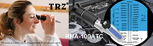 RHA-100ATC  TRZ antifreeze Refractometer
