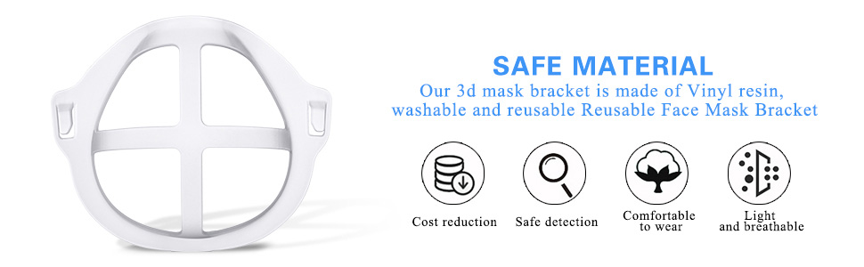 3d mask bracket internal support frame 3d printed mask frame silicone mask face bracket mask shield