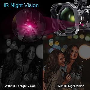 Flashandfocus.com 3f03af24-3a57-497f-8a8f-fb3c9759d4b8.__CR0,0,1000,1000_PT0_SX300_V1___ Video Camera 4K Camcorder ZOHULU WiFi Ultra HD Vlog Camera for YouTube, 3.1'' IPS Screen 30X Digital Zoom Night Vision…