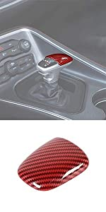 Gear Shift Knob Cover Trim for Dodge Charger Challenger Durango