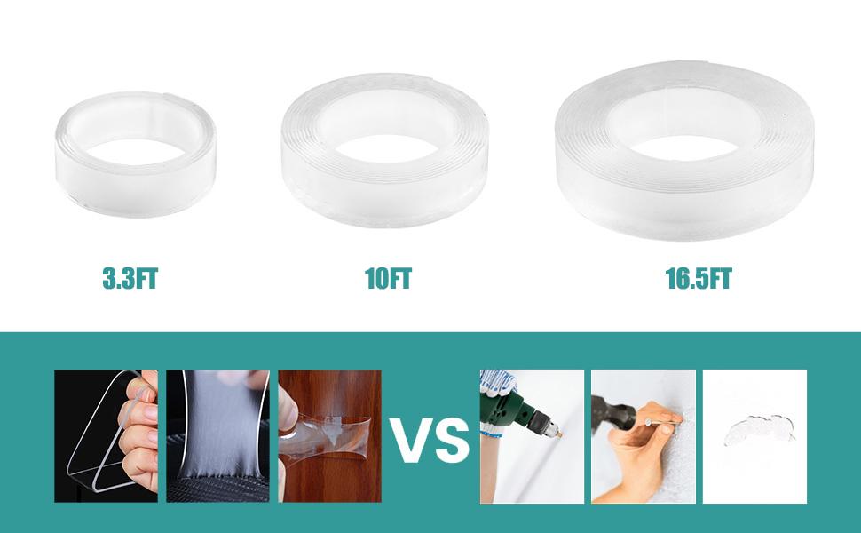 x 5 m 30 mm Cinta adhesiva impermeable para reparaci/ón de tuber/ías Magic ancho L