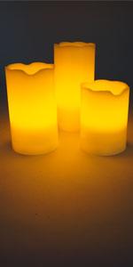 LED kaars Set