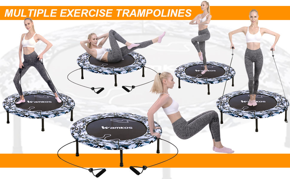 fitness trampoline for adult