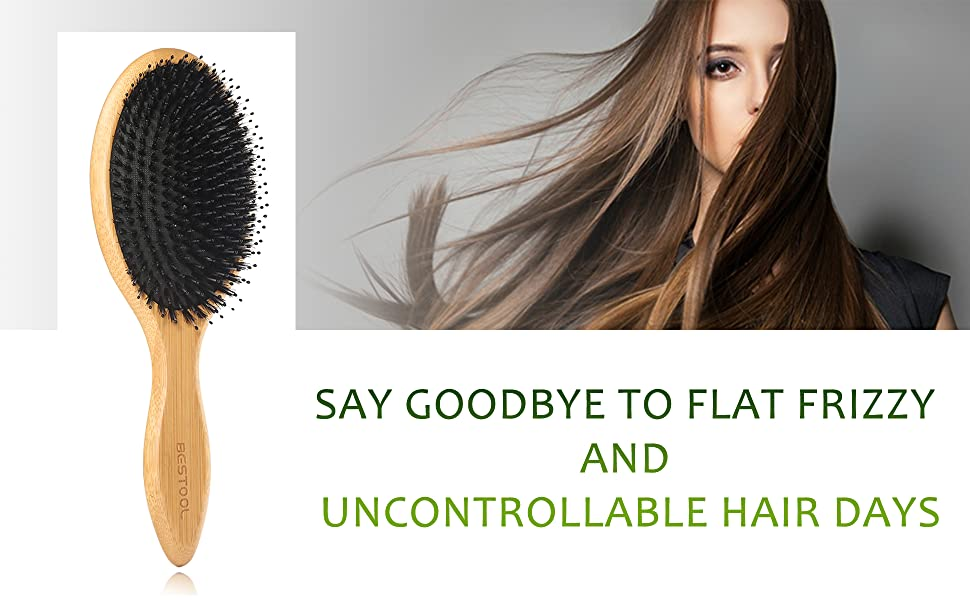 Why you need a boar bristle hair brush?