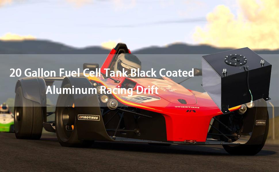 20 Gallon Light Weight Aluminum Racing Drift Fuel Cell Tank