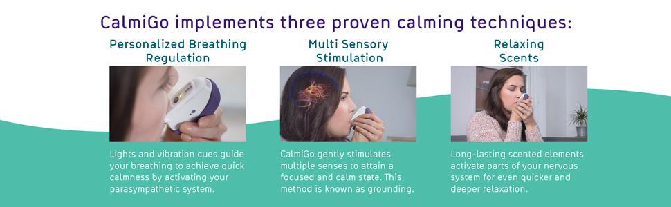 Calmigo Drug free anxiety relief device