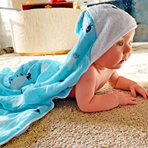 Luxury Hooded Bath Towel