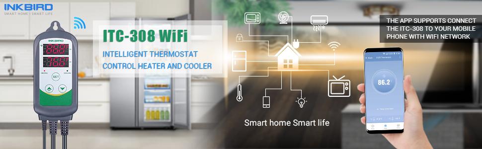 temperature controller freezer freezer thermostat wifi smart control