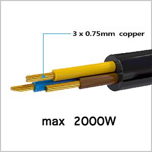 280cm Pure Copper Core