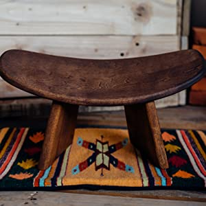 bench bluecony chair Equipment ikuko kneeling meditation pilates seat seiza spoko stool wood yoga