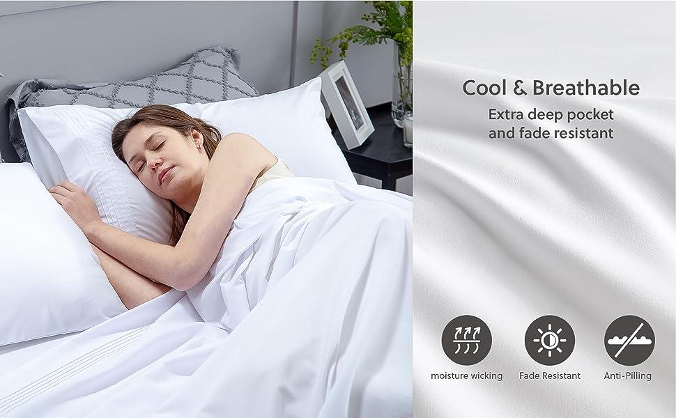 bedsure   sheet set