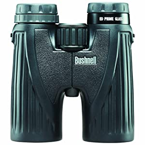 Front view of Bushnell Ultra HD Binoculars