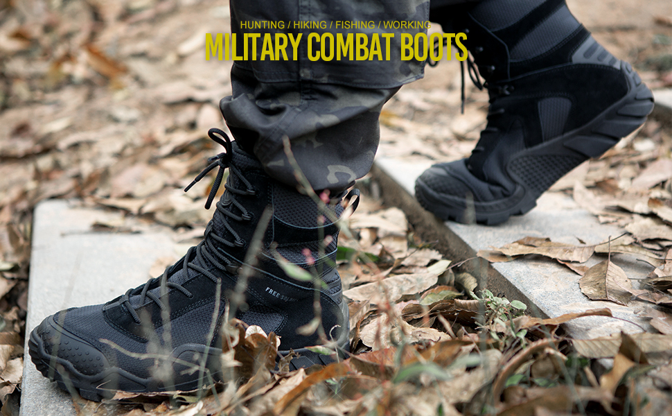 military combat boots