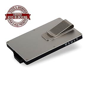 credit card wallet holder rfid minimalist money clip mens womens bank card money cash rfid gift