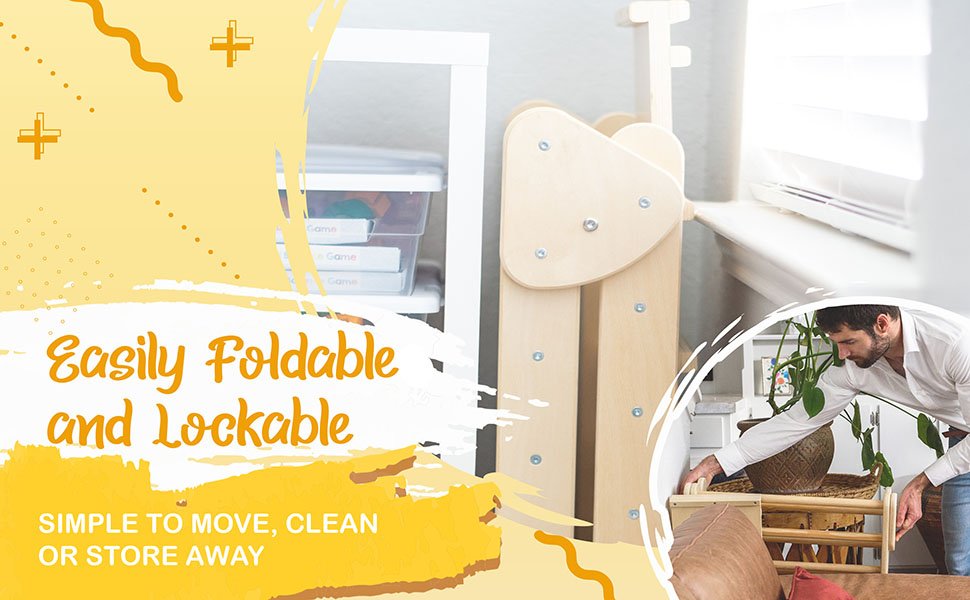 Tottlr Triangle is Easily Foldable and Lockable.