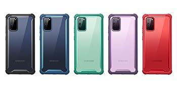 i-Blason Ares Rugged Full-Body Clear Case for Samsung Galaxy S20FE 2020