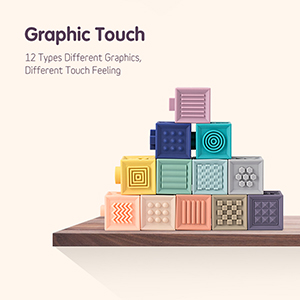 juguetes táctiles gráficos