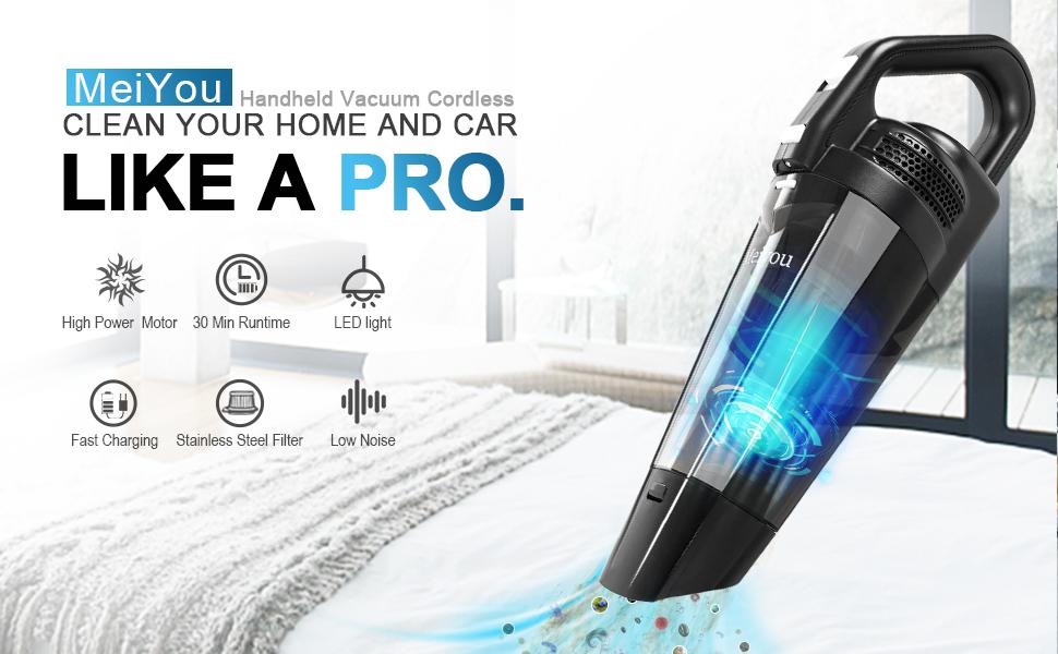 Meiyou handheld vacuum