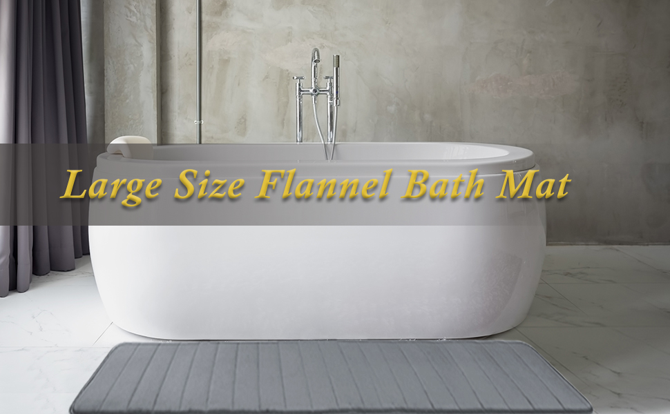 Ideal Ceramic Large Bath Mat 60cm x 40cm