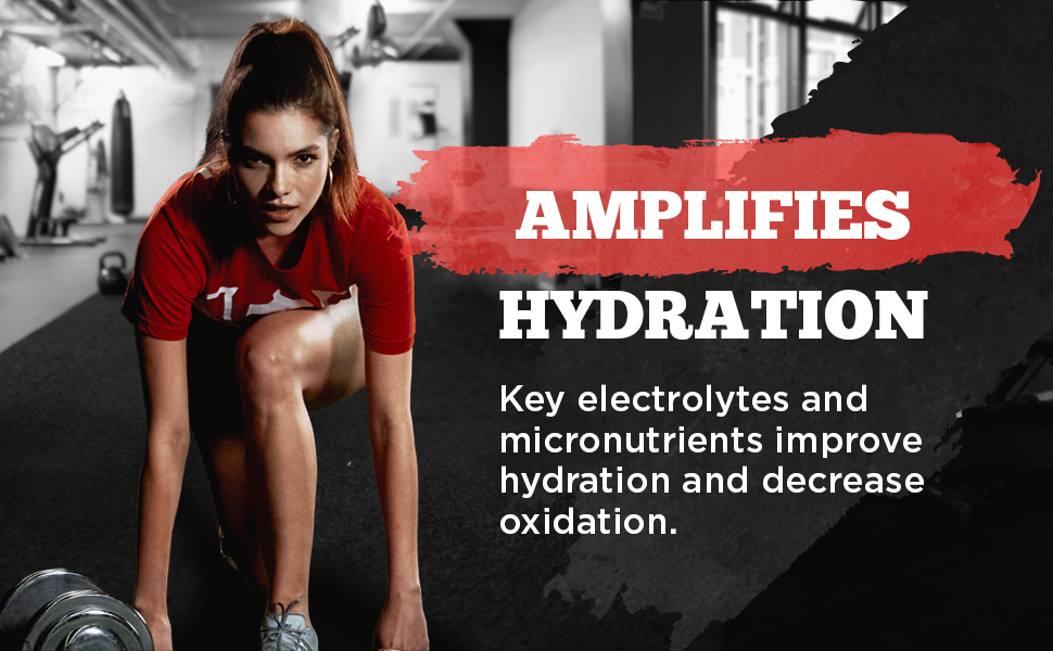 hydration, electrolytes, oxidation