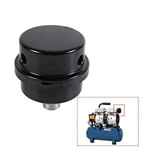 Gewinde Metall Luftkompressor Ansaugfilter Geräuschdämpfer Schalldämpfer X7B3