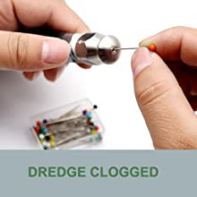 dredge clogged