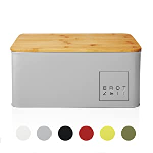 Lumaland Bread Bin available with multiple colors