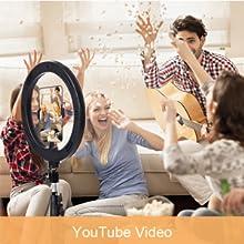 ring light for Youtube