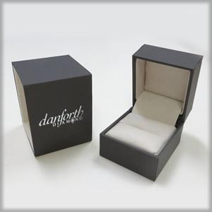 matte ring box