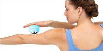 Cold roller massage ball
