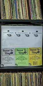 "Vinyl Record LP 12"" Inner Sleeves Invest In Vinyl Master MFSL"