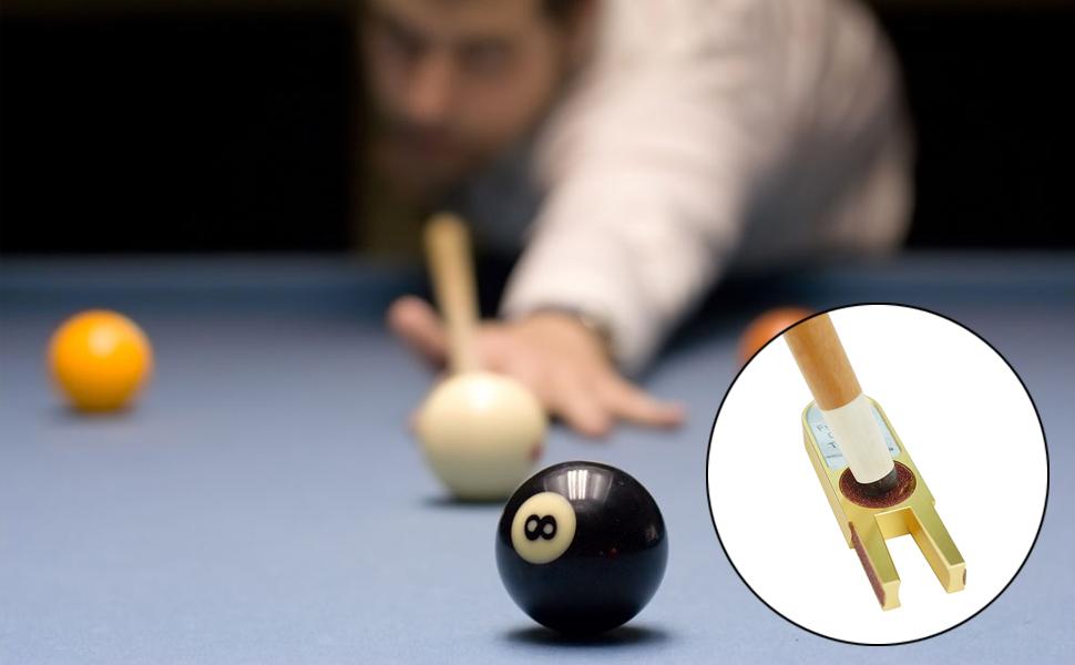 Stick Shaper Perfeclan Billiard Pool Snooker Cue Tip Clamp