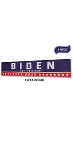 Biden banner