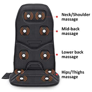 heating pad back massager