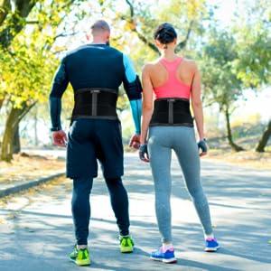 lumbar support belt lower back support back brace for lifting back belt back brace for women
