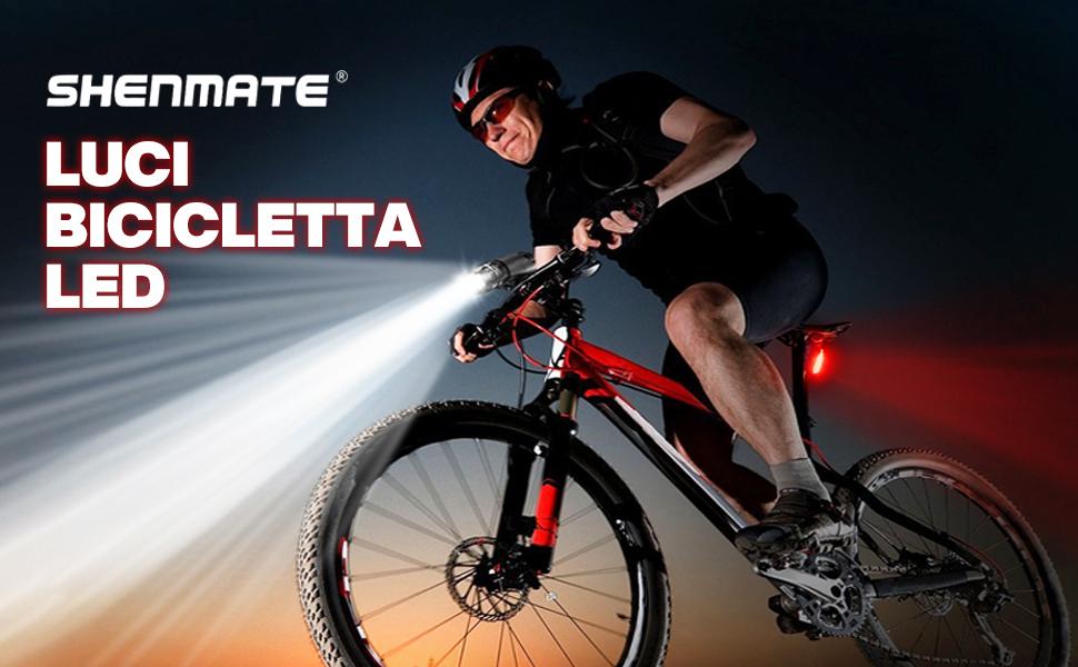 luci bicicletta led