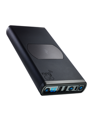 nrgGo 25600mAh + Qi Power Bank