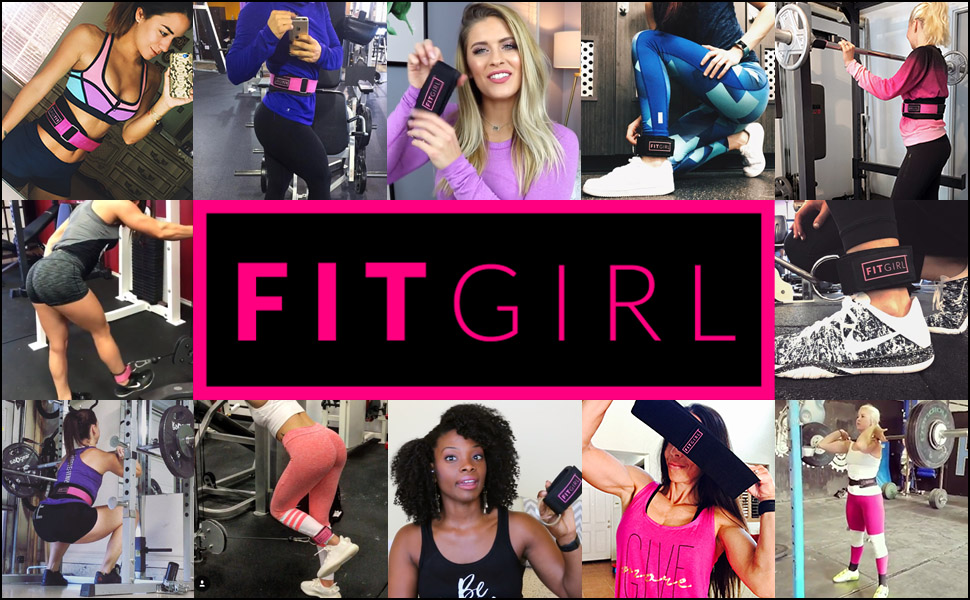 fitgirl resistance bands gym leg workout