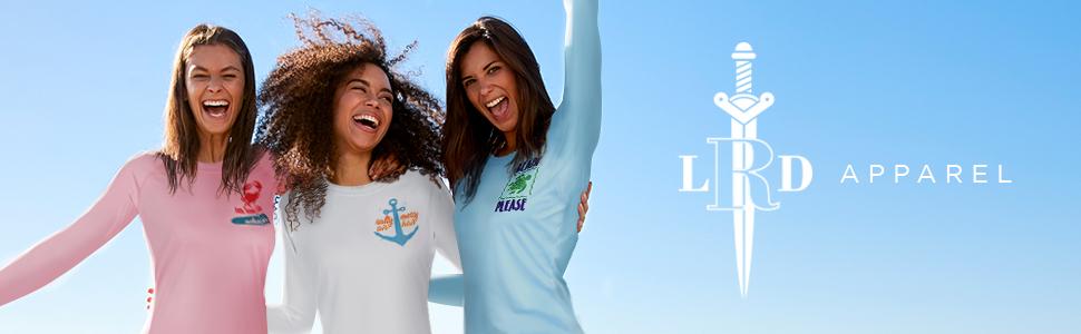 HDE Womens Long Sleeve Rash Guard Sun Protection T-Shirt UPF 50 Beach Swim Shirt
