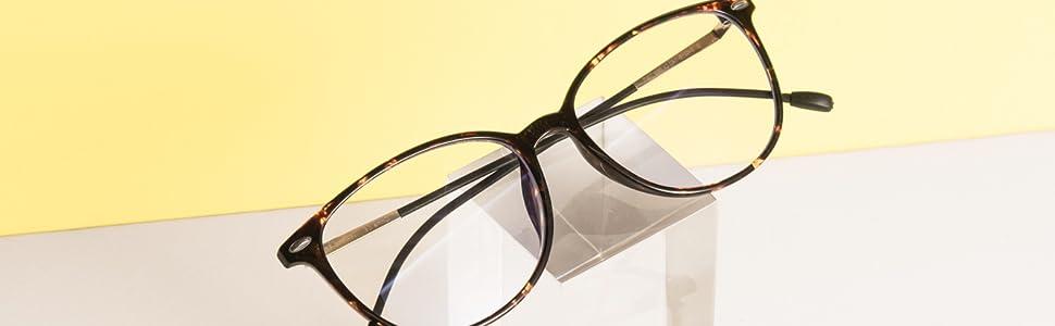 cat-eye Blue Light Glasses Tortoise Frame Blue Blockers for Women wearme pro