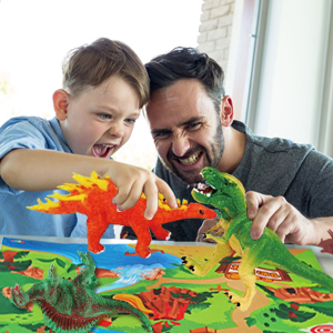 Come To Explore And Paint The Dinosaur World By Little Hands!!!