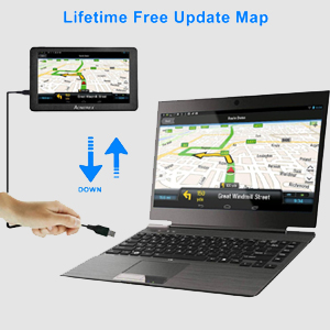 lifetime free map update