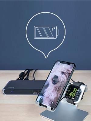 USB-C Pro Dock Stand Alone Charging with Iphone and Smart Watch